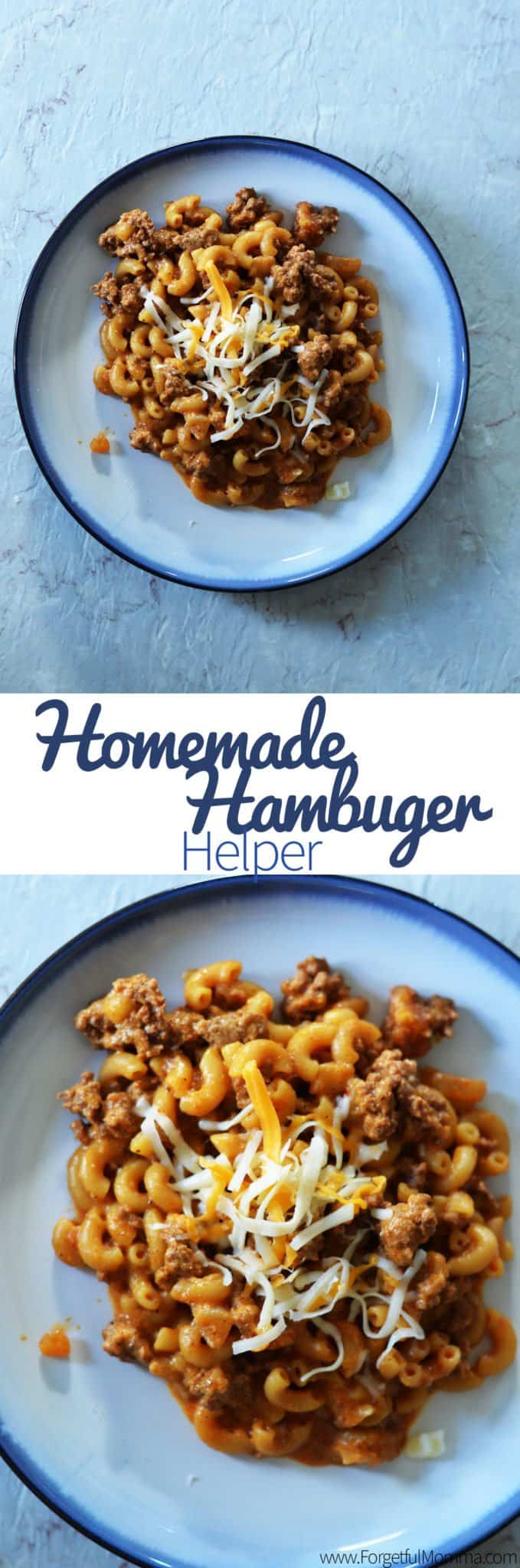 Homemade Hamburger Helper recipe
