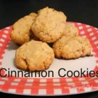 Baking Cinnamon Cookies