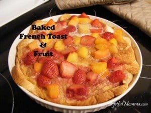 French Toast in the Oven
