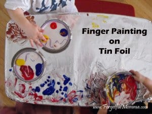 Painting Tin Foil