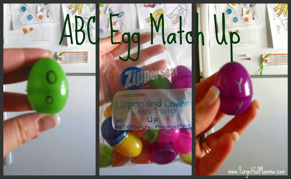 ABC Egg Match Up