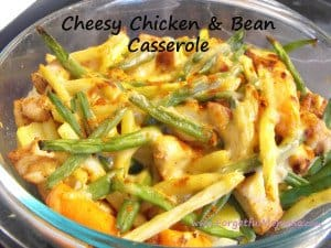 Chicken and bean casserole