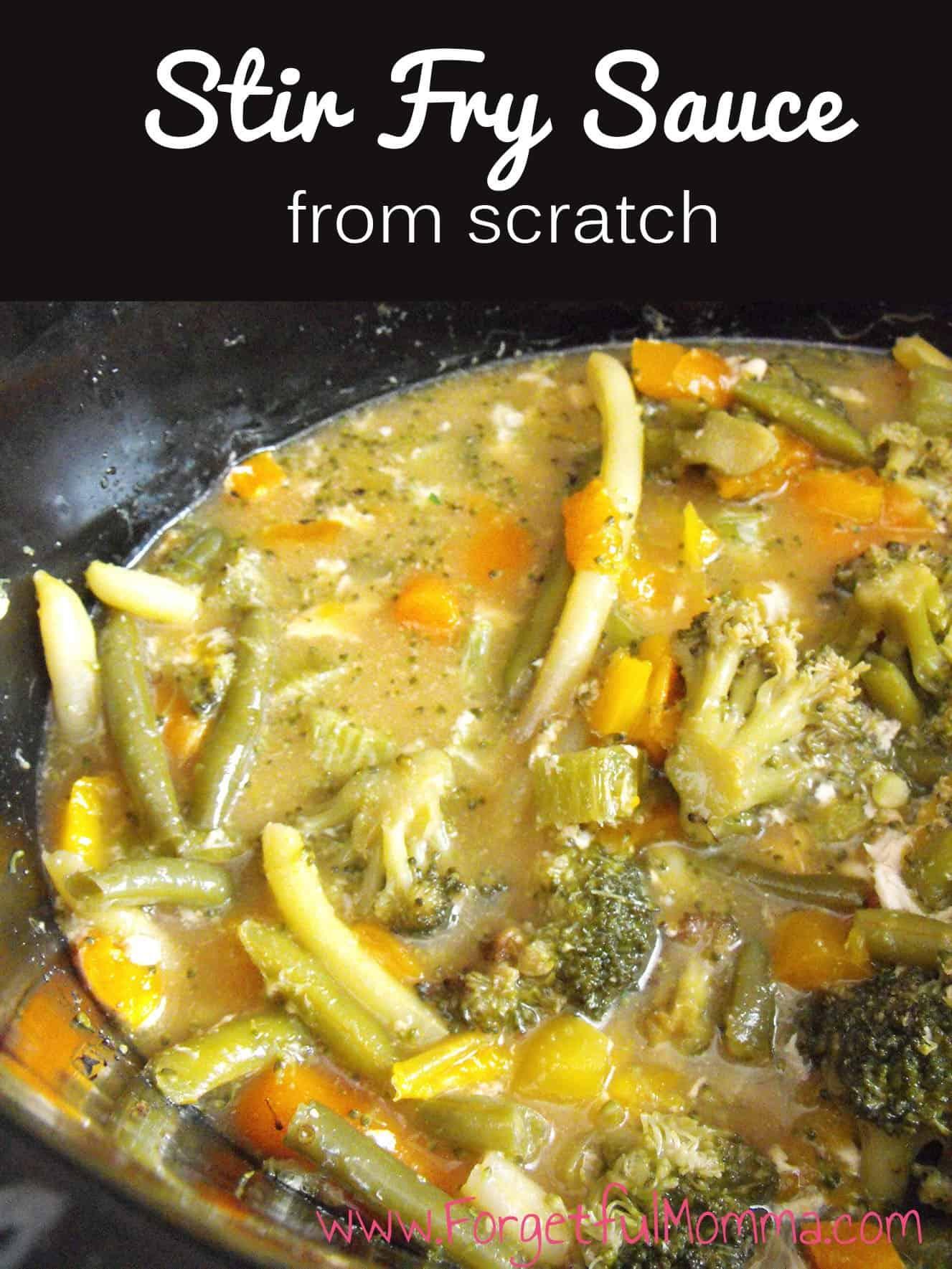 Stir Fry Sauce from Scratch