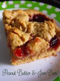 Peanut Butter & Jam Bars