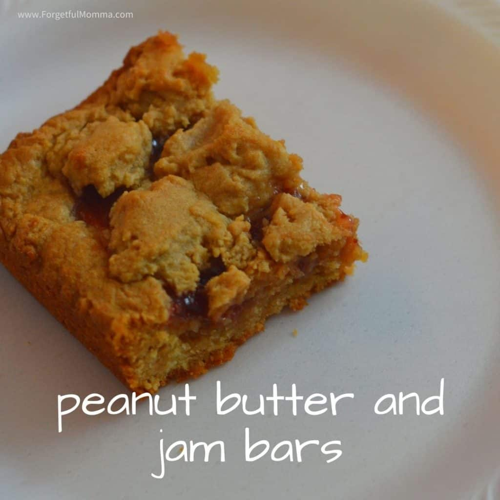 peanut butter and jam bars - peanut butter jam bars