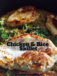 Chicken and Rice Skillet