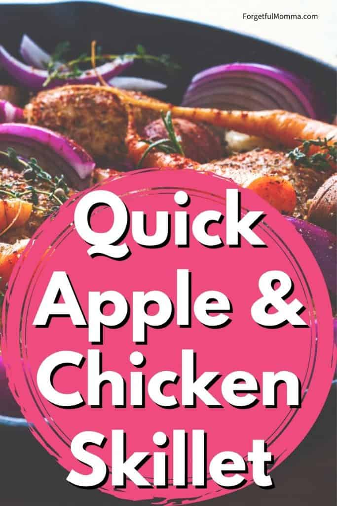 Quick Apple & Chicken Skillet