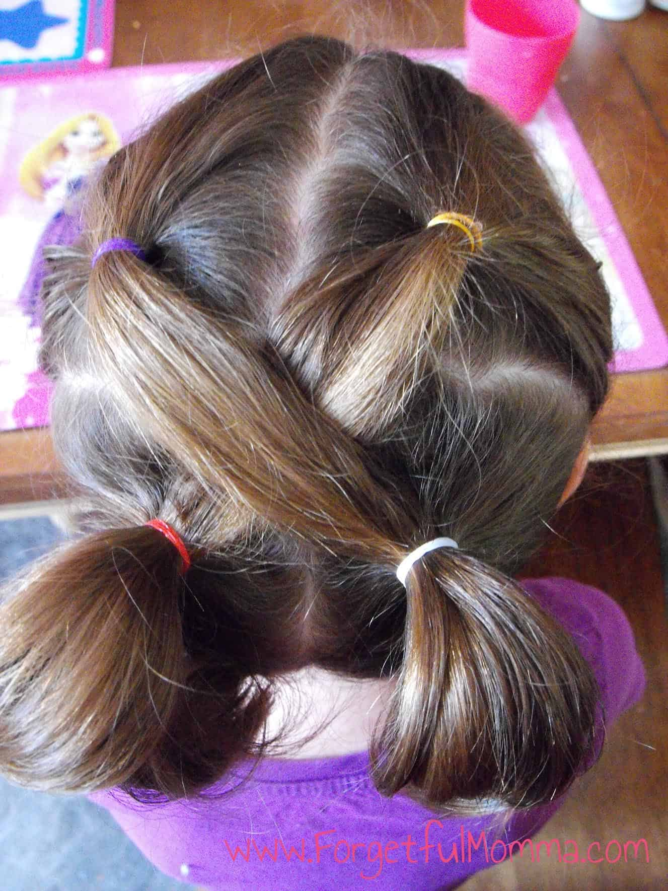 Peachy Back To School Hair For Little Girls Forgetful Momma Short Hairstyles Gunalazisus