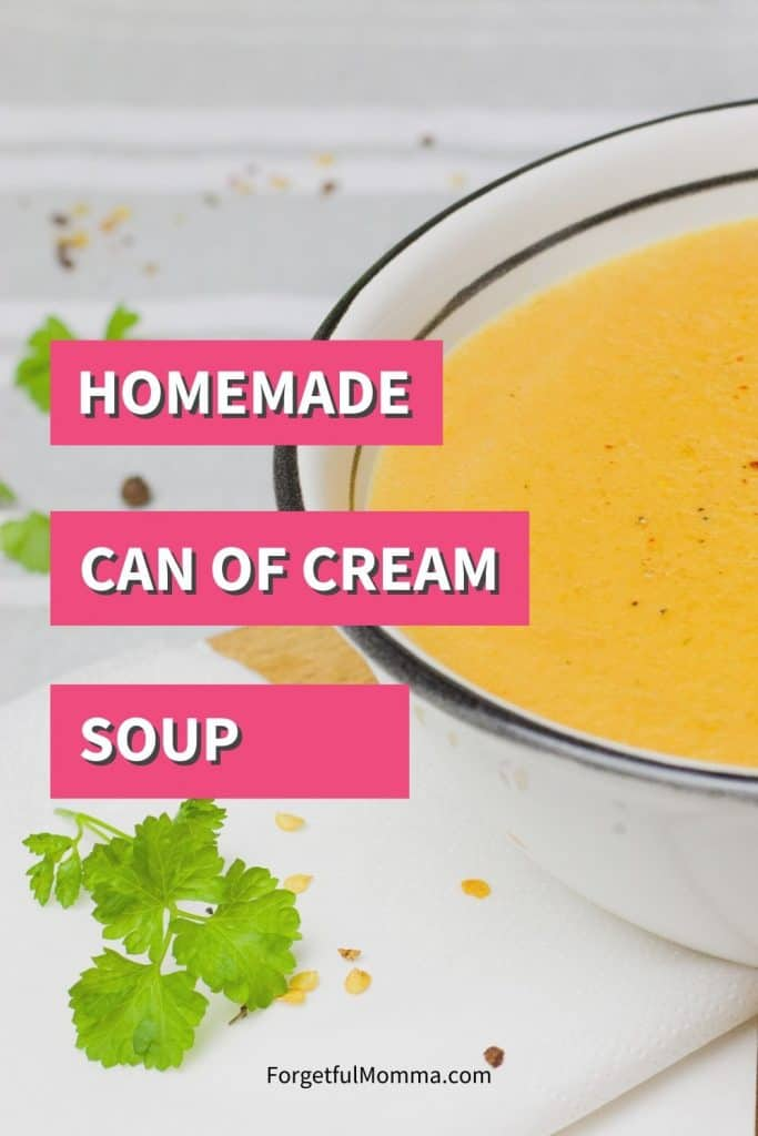 Substitute for Can of Cream Soup