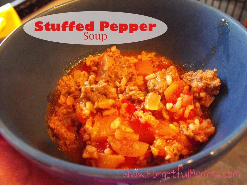 Stuffed Pepper Soup - Soup Round Up