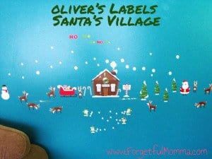 Oliver's Labels - Santa's Village