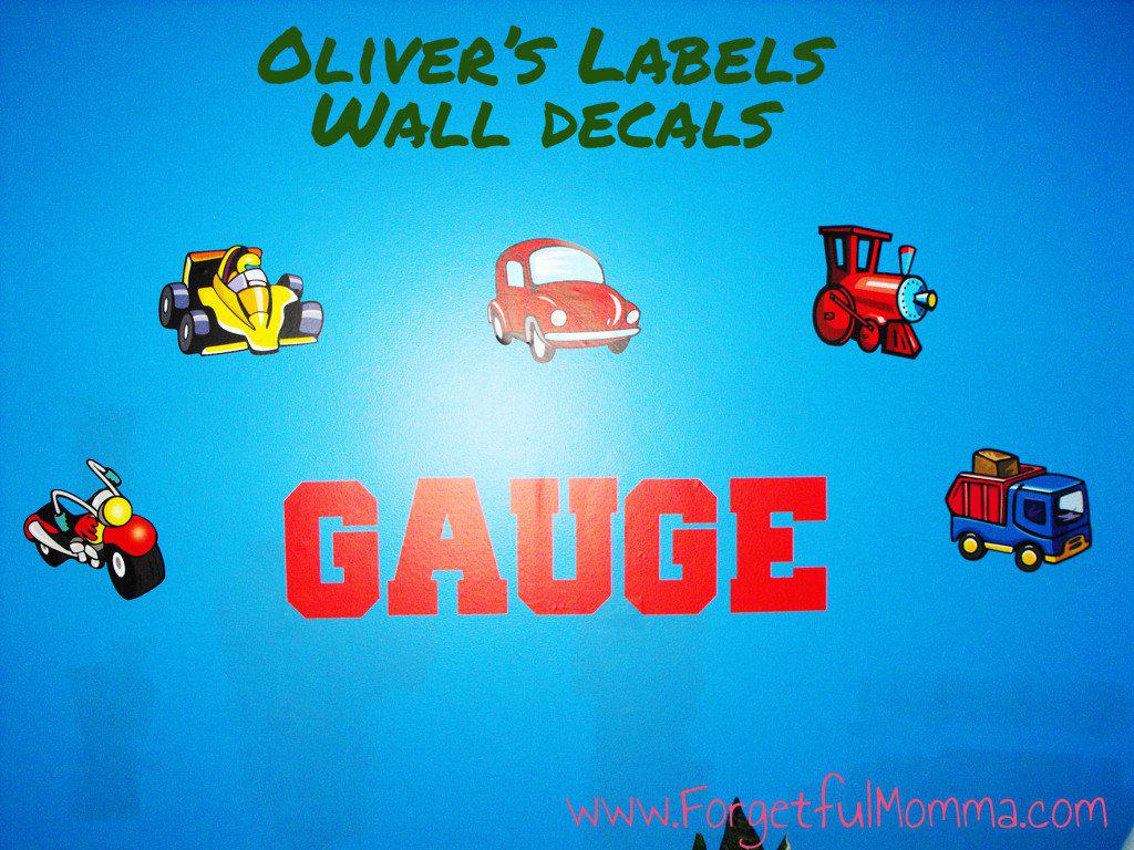 Oliver's Labels - Wall Decal