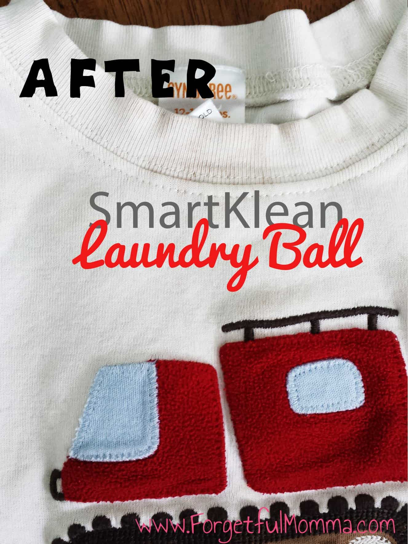 SmartKlean - Laundry Ball - after