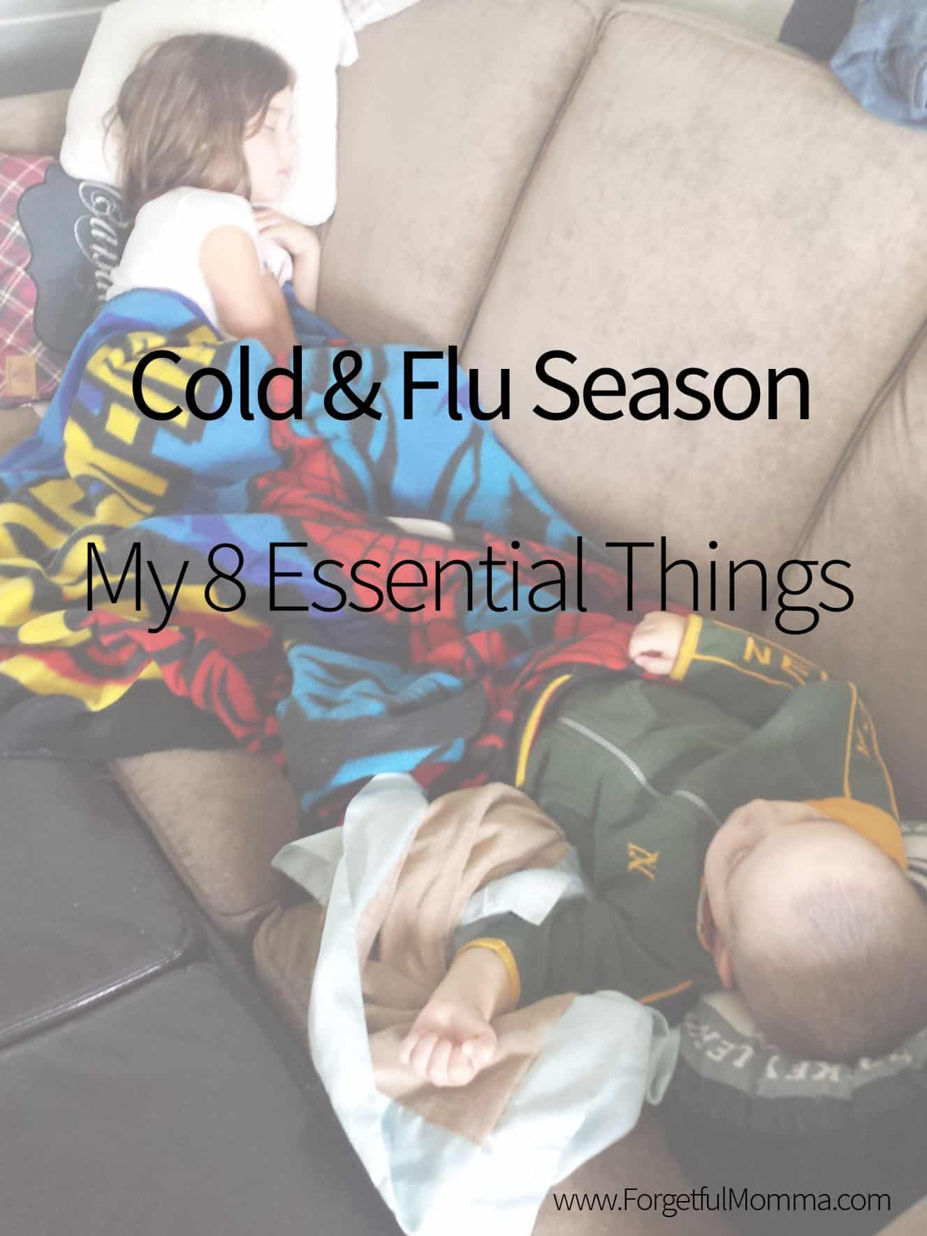 cold and flu season - my 8 essentials things