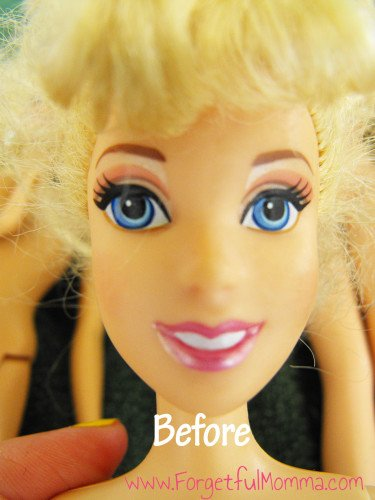 Barbie's Hair Salon Day