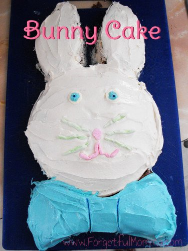 Bunny Chocolate Cake