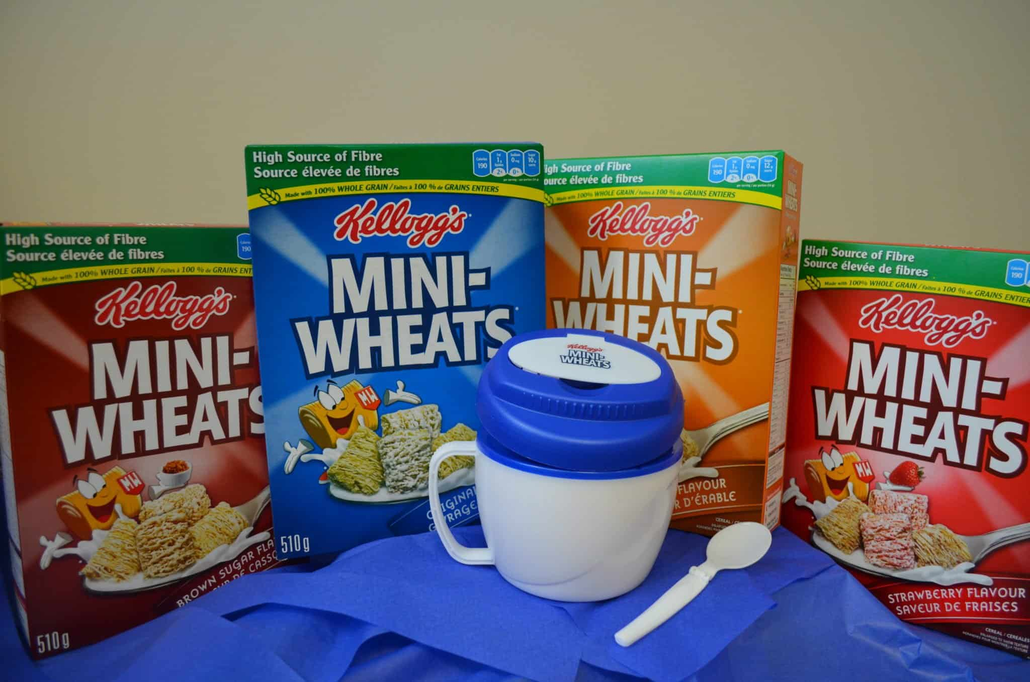 Mini Wheats Prize Pack