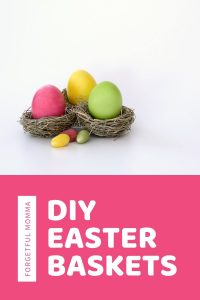 DIY Easter Baskets for a Frugal Budgeting Mom