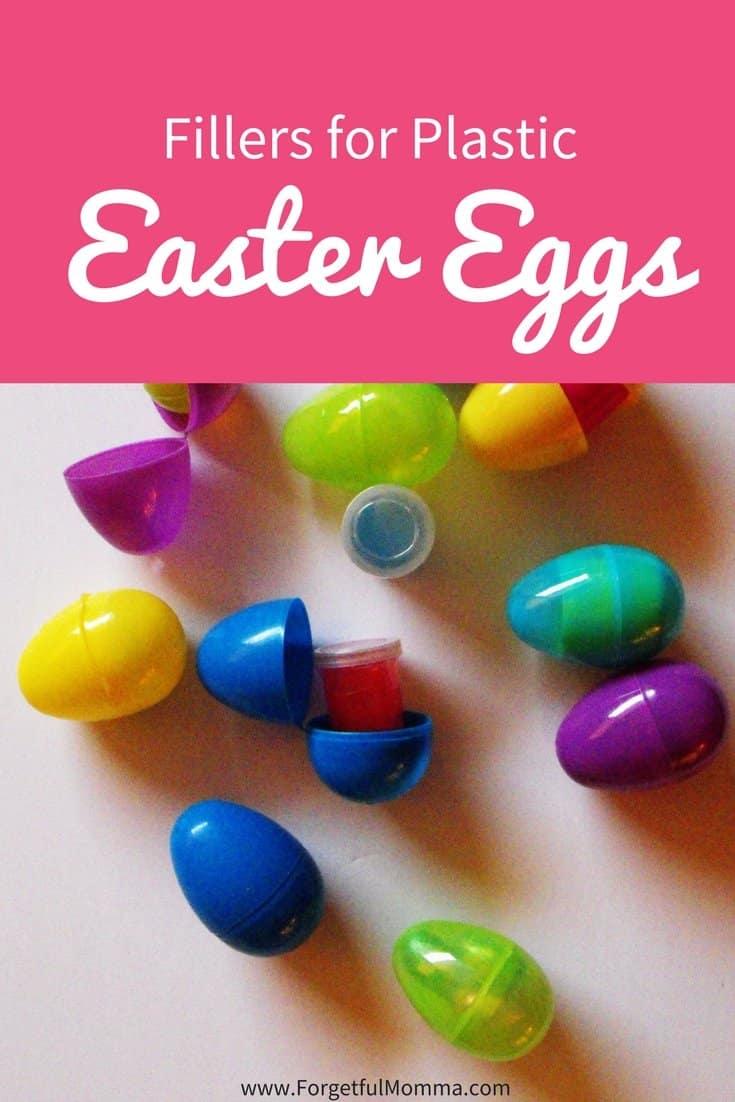 Fillers for Plastic Easter Eggs