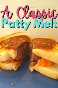 A Classic Patty Melt