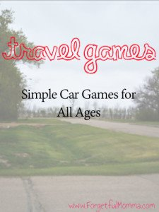 Travel Games to Play with Kids