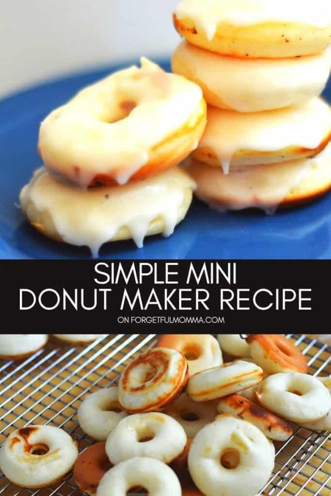 simple mini donut