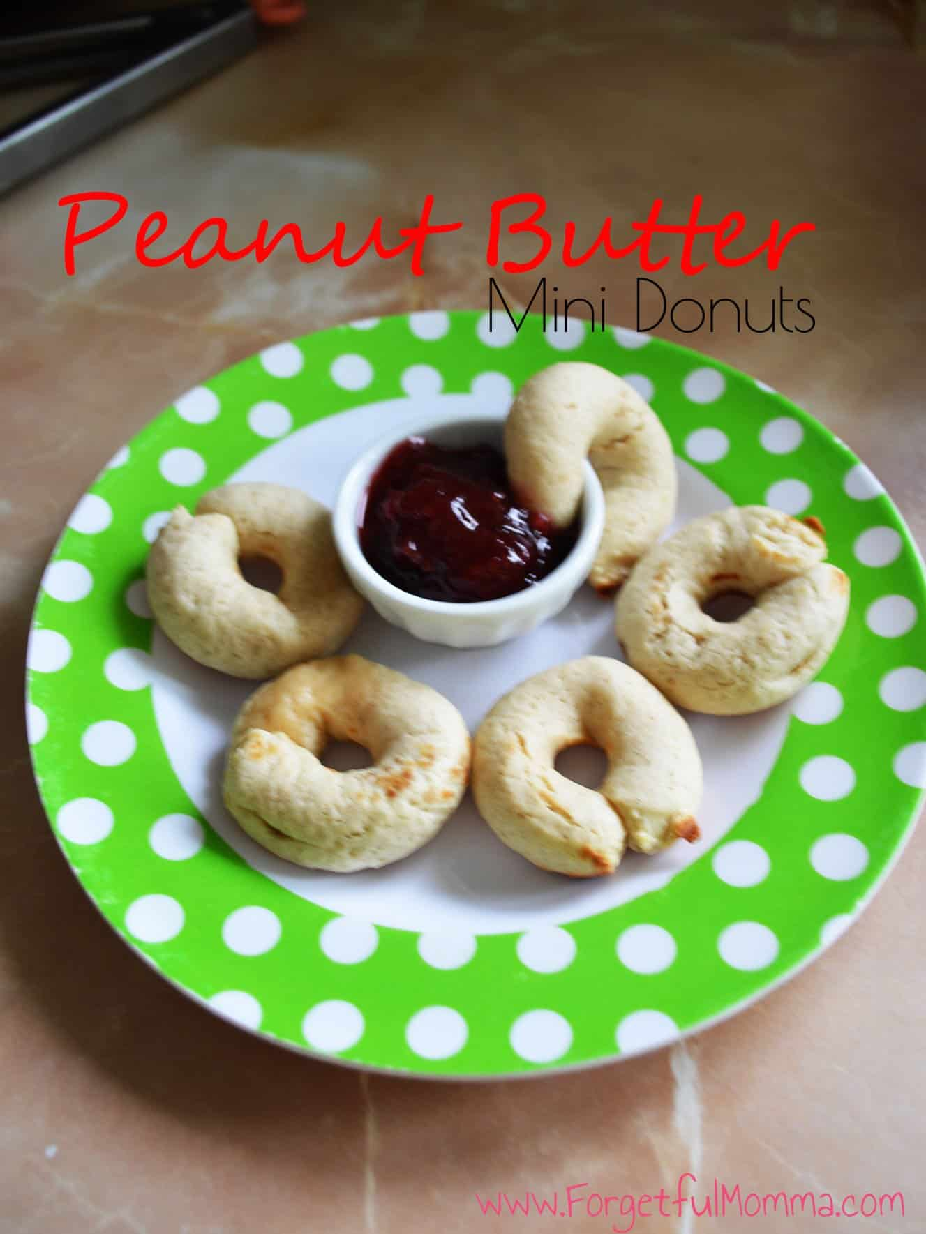 Peanut Butter Mini Donuts 1