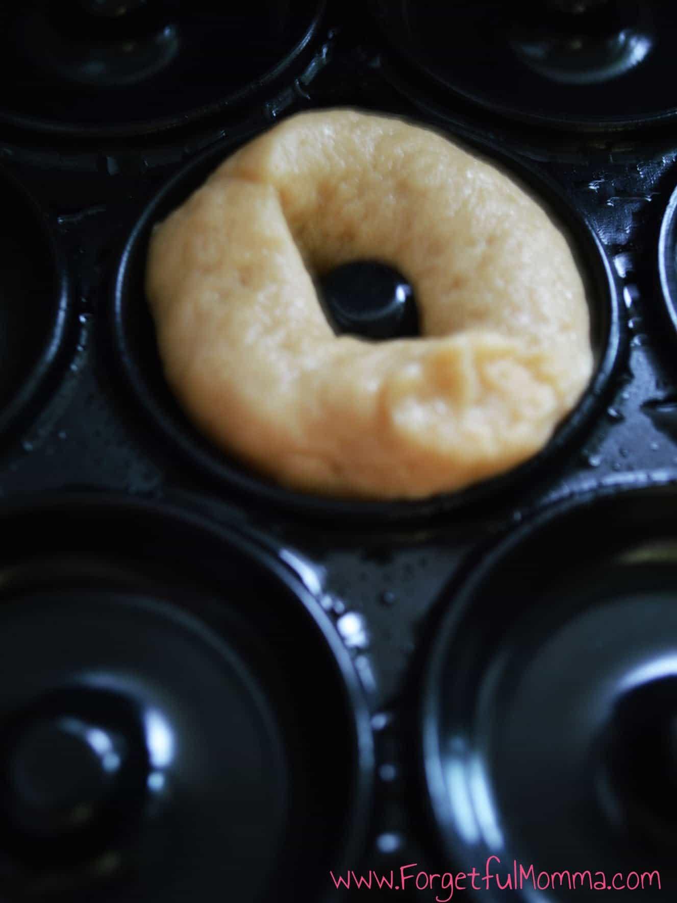 Peanut butter mini donut