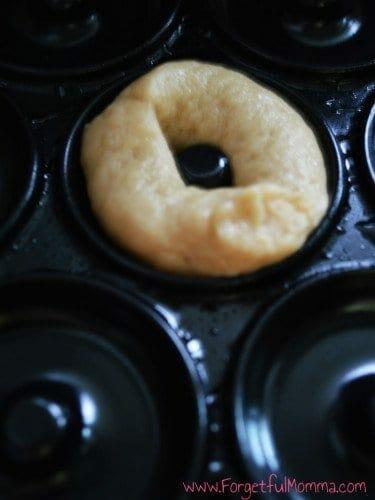 Peanut Butter Mini Donuts