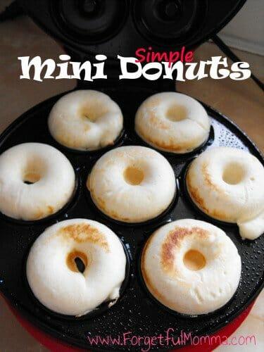 Simple Mini Donuts