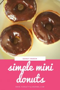 simple mini donuts