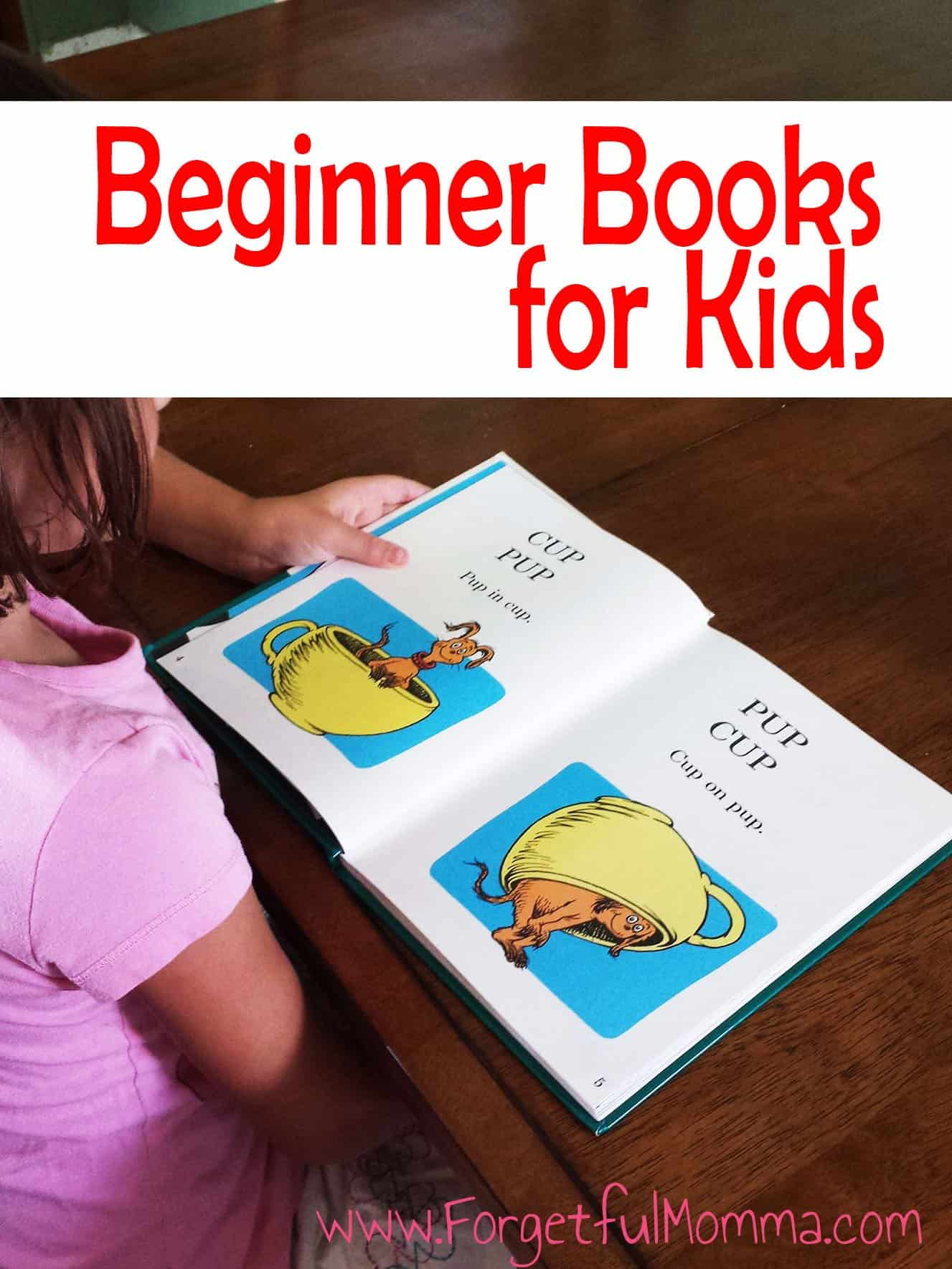 Beginner Books for Kids - I Can Read Beginner Books - Child reading