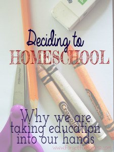 Is Homeschooling for Us?