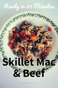 Skillet mac & beef