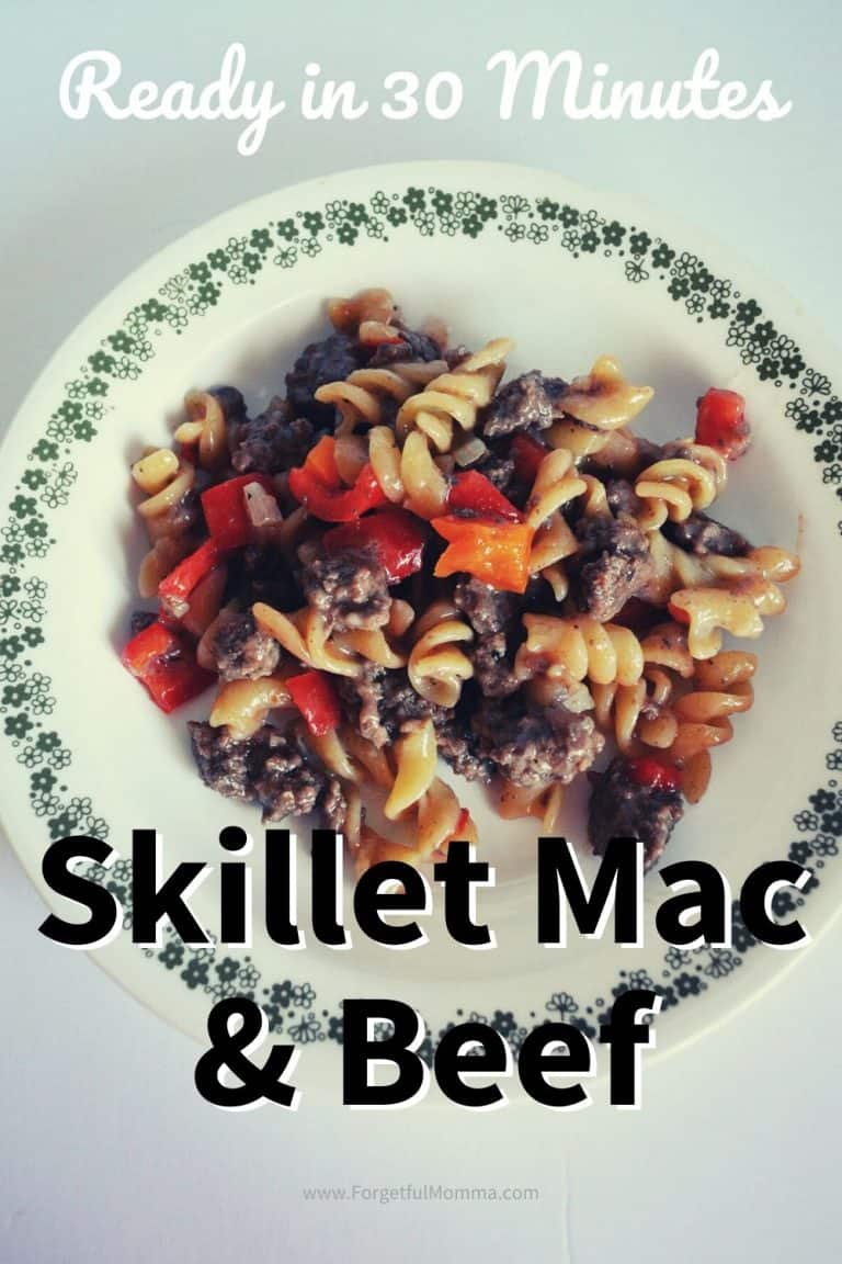 Skillet Mac and Beef – Ready in Under 30 Minutes