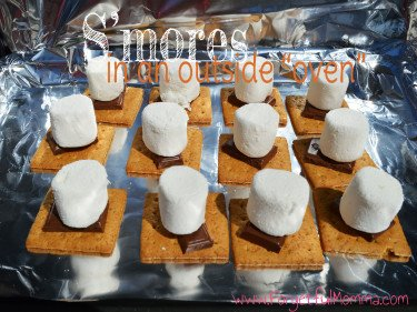 S'mores in a Solar Oven