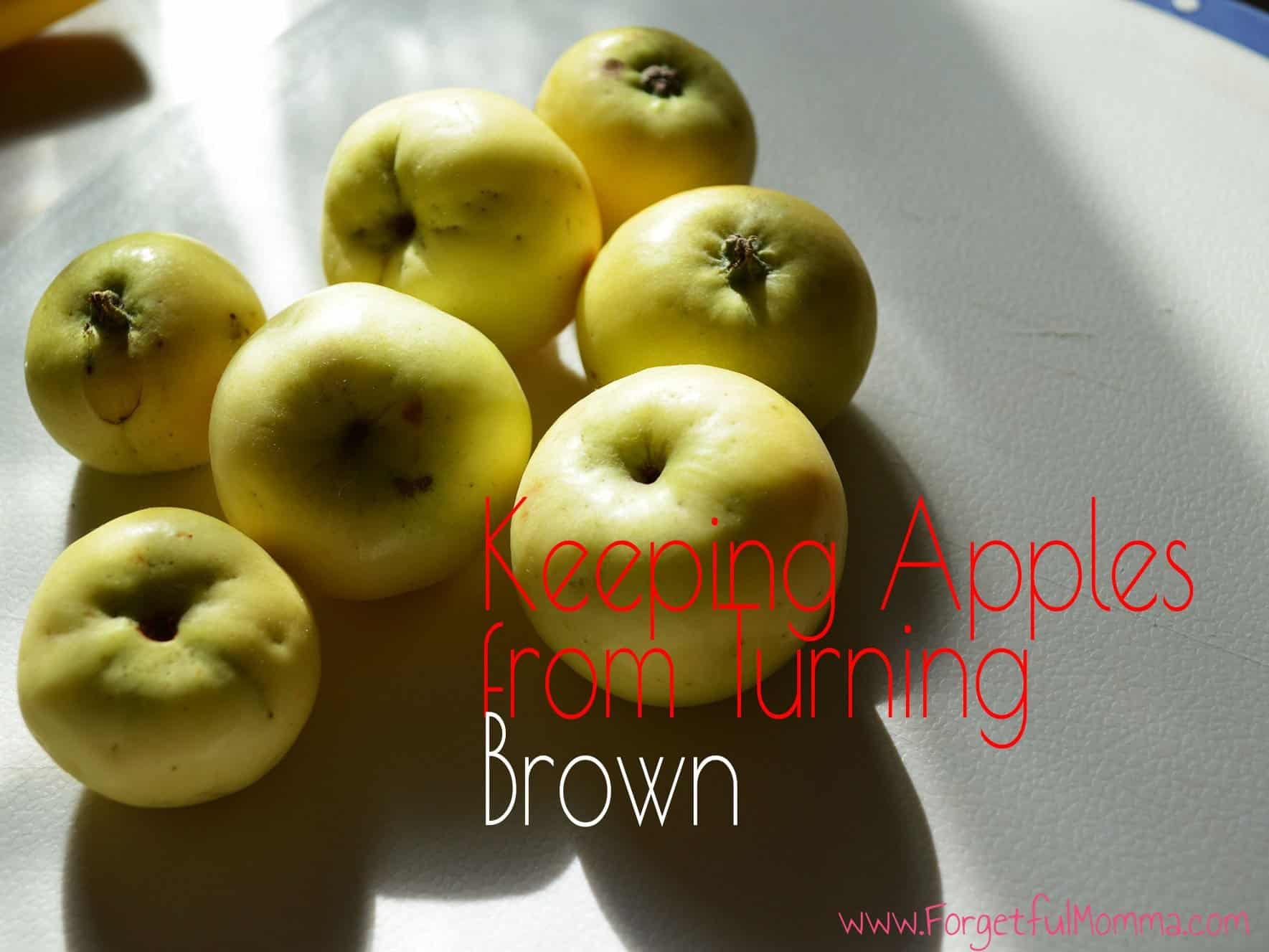Apple Browning Experiment