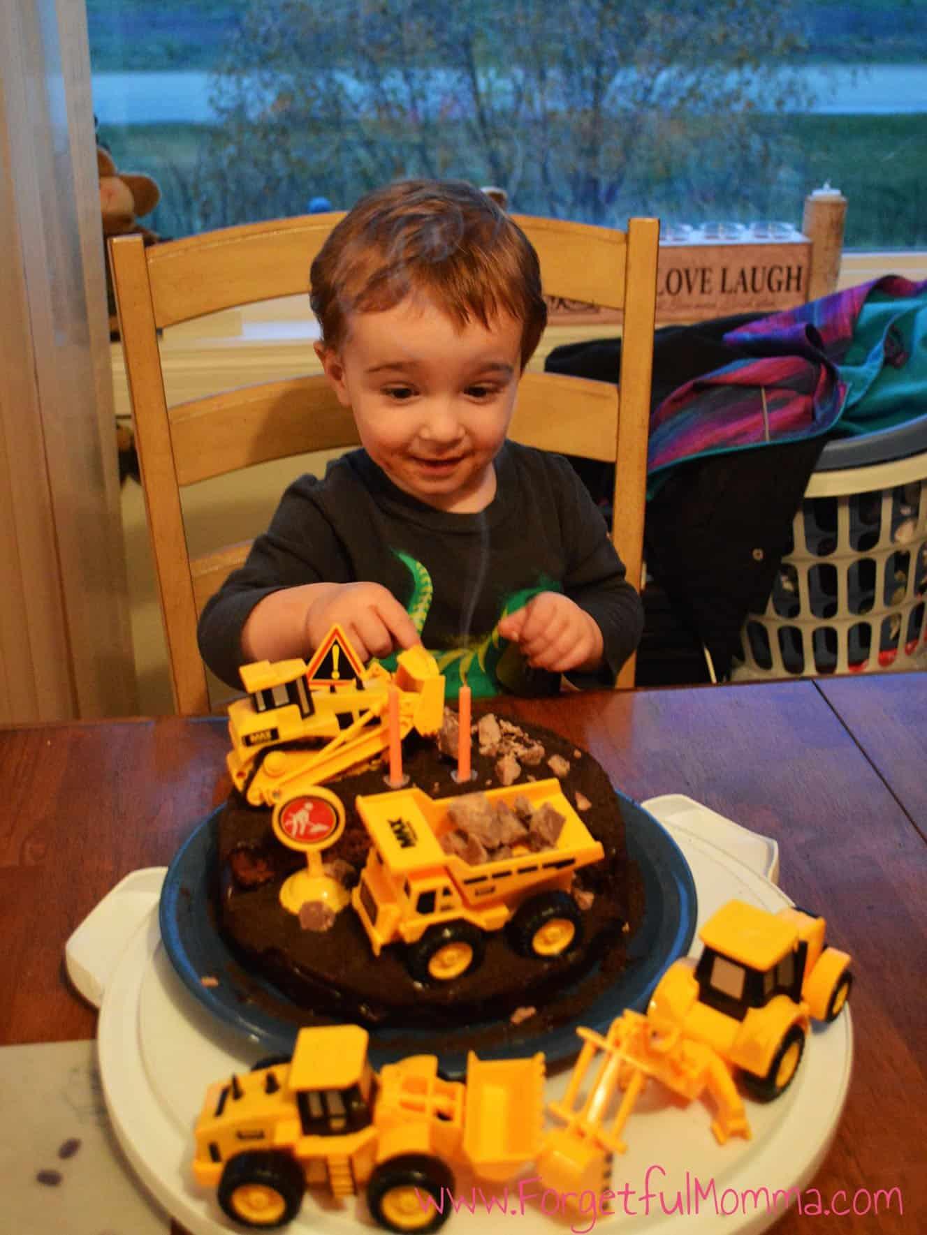 Truck Birthday Cake Forgetful Momma