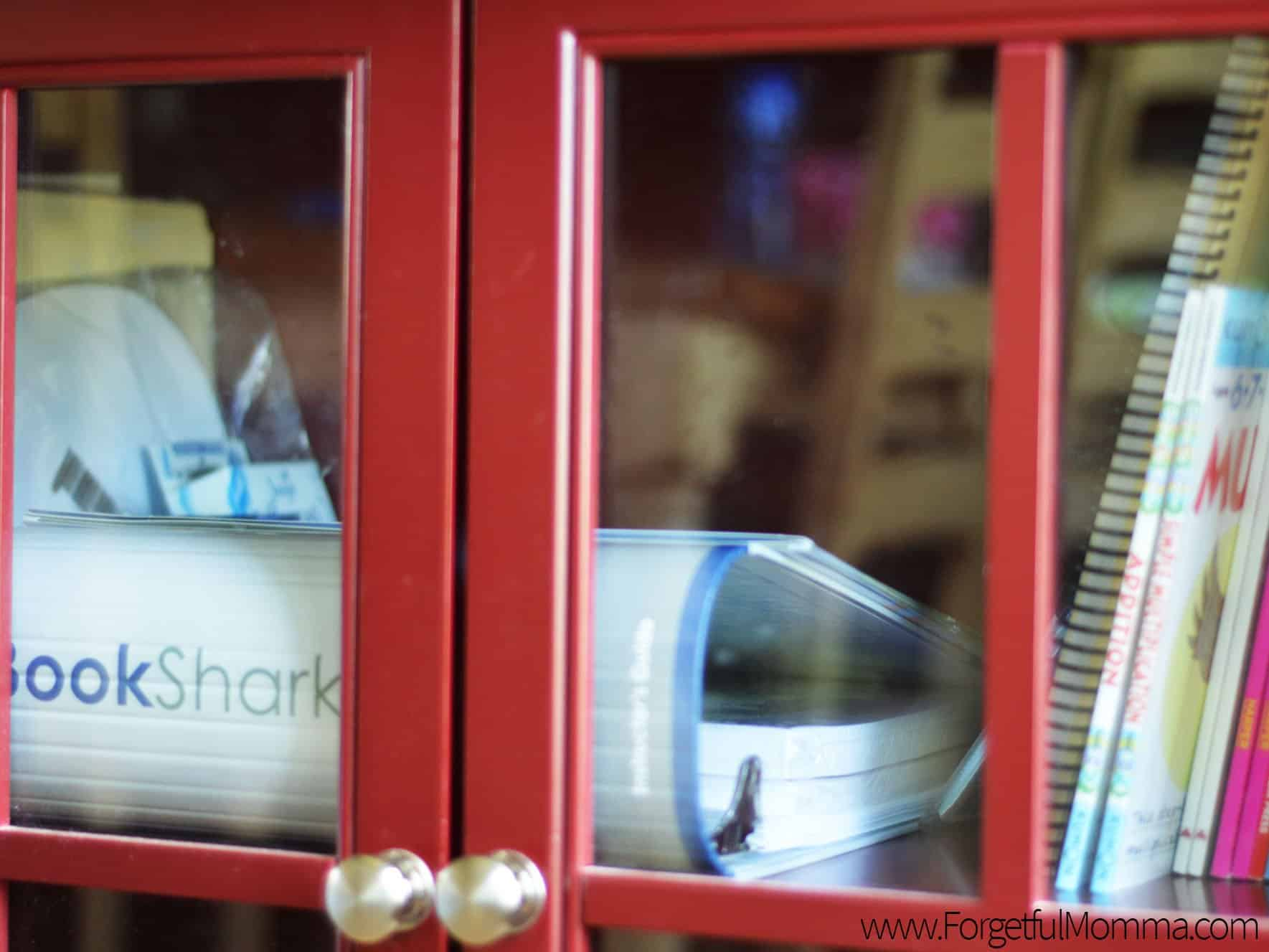 Storage - BookShark Binder - No Homeschool Room
