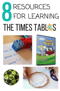 8 Resources for Learning the Times Tables