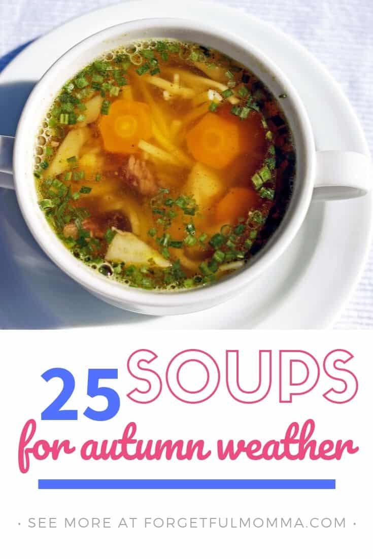 soups for autumn