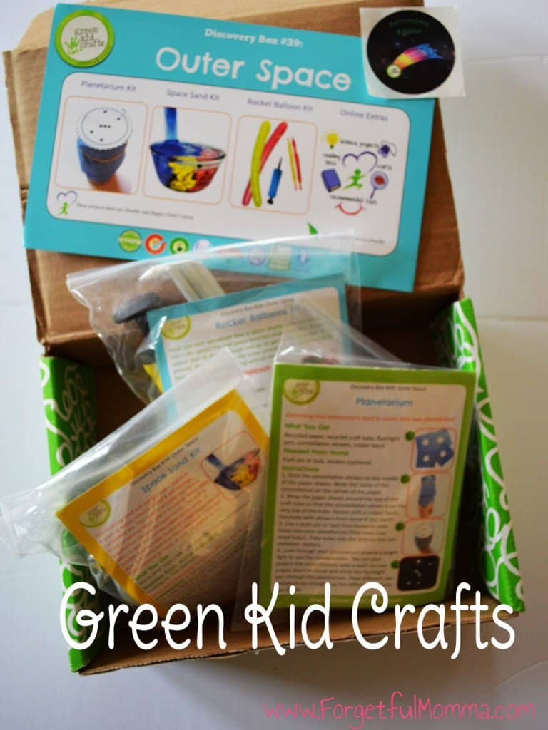 green kids crafts