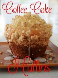 Coffee Cake Muffins