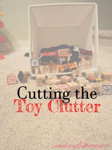 Cutting the Toy Clutter