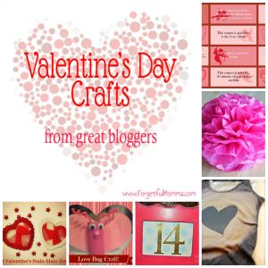 Valentine's Day Craft Round Up