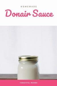 Homemade Donair Sauce