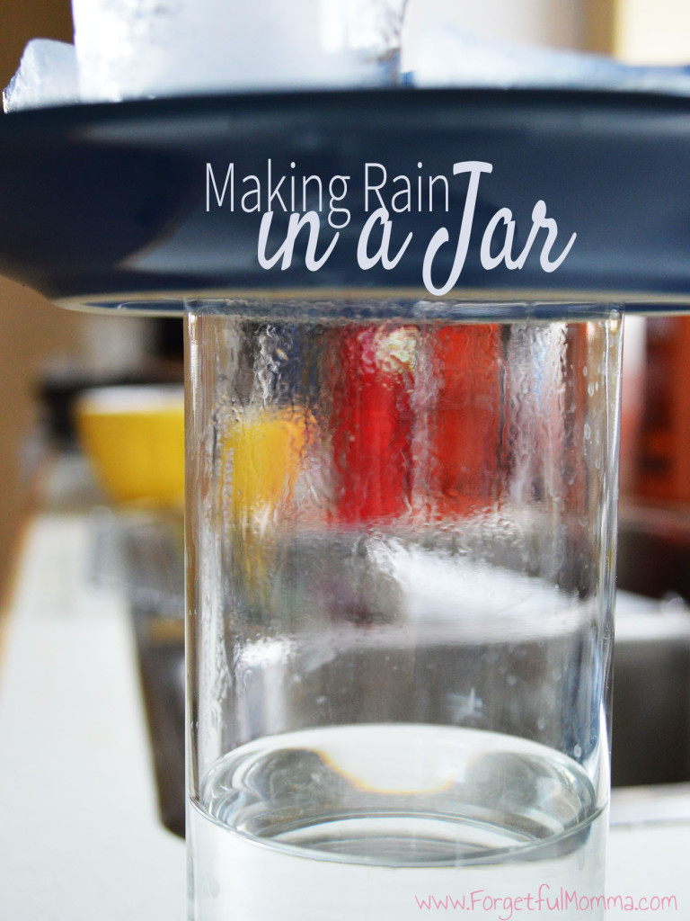 Making Rain in a Jar