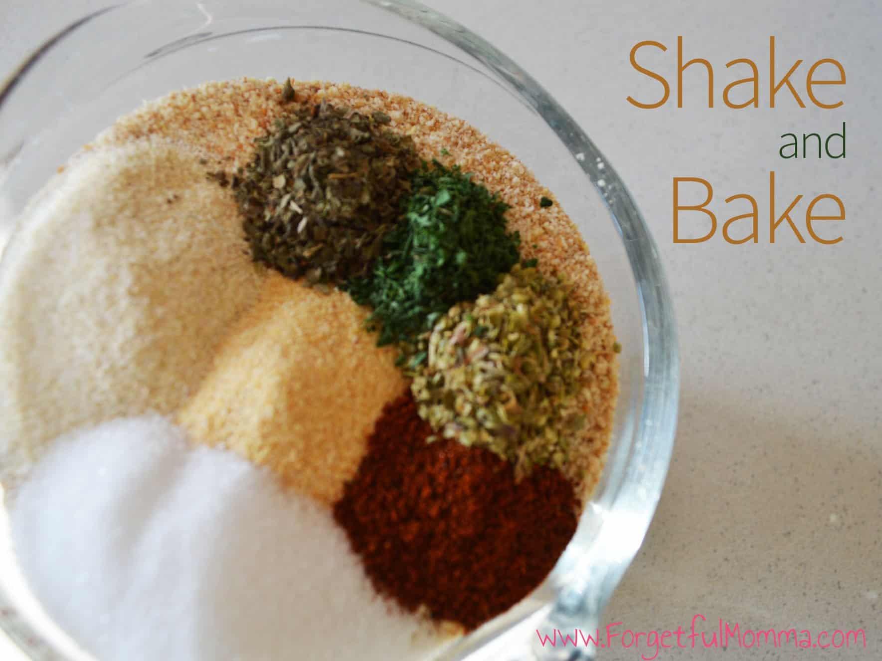 Shake and Bake Recipe