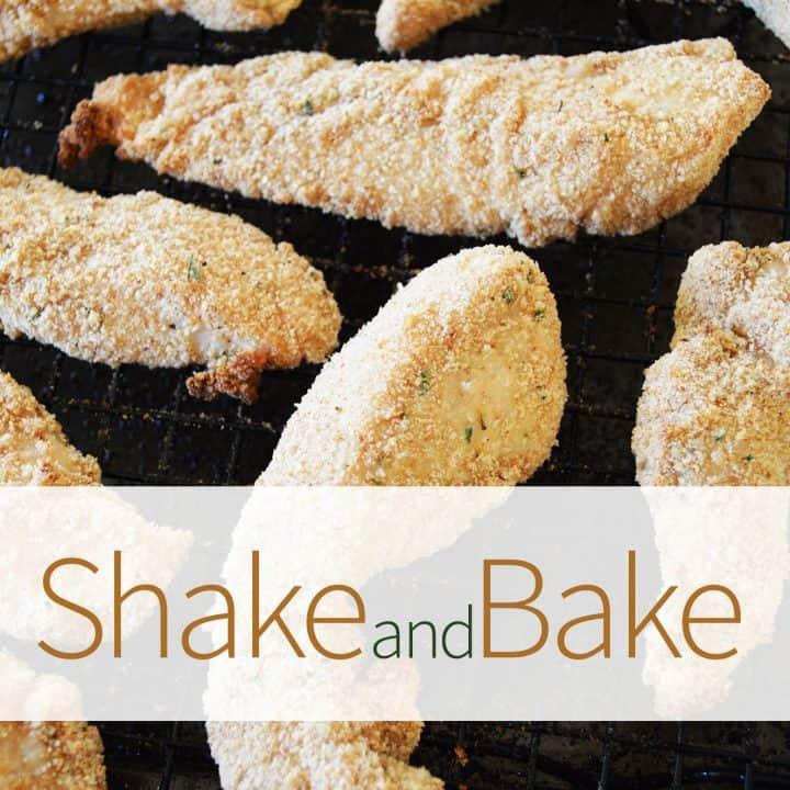Shake and Bake Chicken