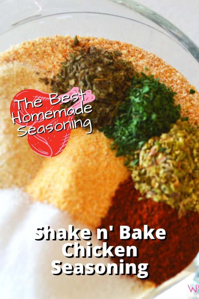 Shake n' Bake Chicken Seasoning
